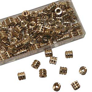 Brass Tapin Inserts 100/Box