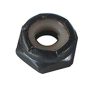 6Mm Nylon Lock Nut/100Pk